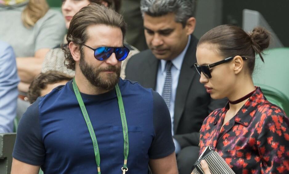EKSPAR: En kilde hevder at Irina Shayk og Bradley Cooper helst ville foretrukket å ikke ha noe med hverandre å gjøre. Her er de to avbildet sammen i 2016, omtrent tre år før bruddet. Foto: NTB Scanpix