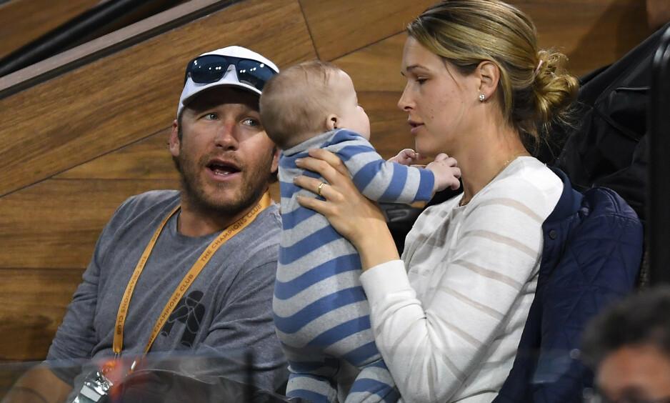 GJØR GREP: Etter at alpinstjernen Bode Miller og kona Morgan Beck Miller mistet datteren i drukning i juni 2018, gjør de nå grep for at deres åtte måneder gamle sønn ikke skal lide samme skjebne. Foto: NTB Scanpix