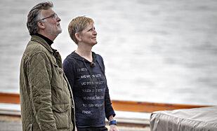 KONSULENTER: Både Knut Lindh og Eva B. Ragde er med som konsulenter i TV-serien. Foto: Bjørn Langsem