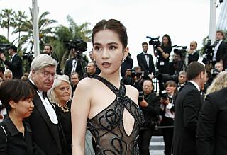 Risikerer å bli bøtelagt for lettkledd Cannes-kjole