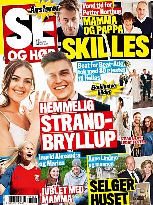 <strong>LES MER:</strong> I ukens Se og Hør kan du lese mer om Northug-skilsmissen. Foto: Faksimile Se og Hør
