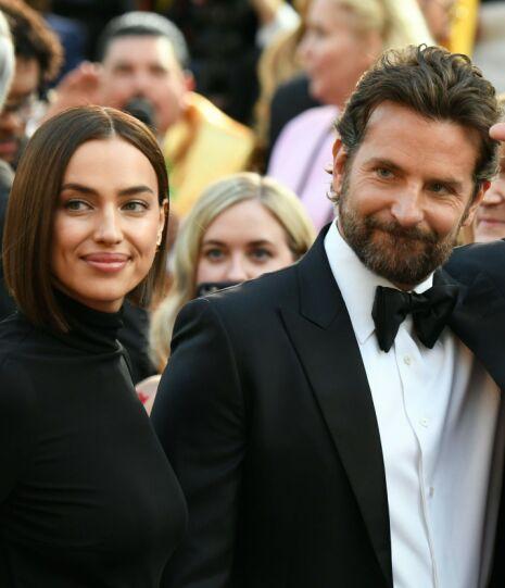 KJÆRLIGHETEN SOM BRAST: Irina og Bradleys forhold skulle ikke vare. Flere skal ha det til at de har gått hver til sitt. Foto: NTB scanpix