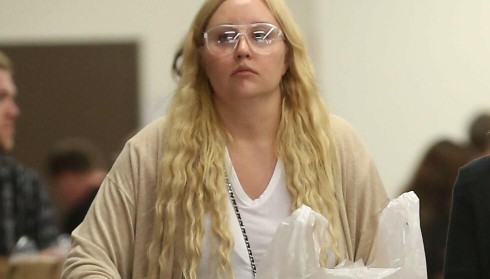 <strong>I GJELD:</strong> Amanda Bynes' rehab-opphold var en dyr affære. Såpass mye kostet de to dagene, at hun ennå ikke har betalt. Foto: NTB scanpix
