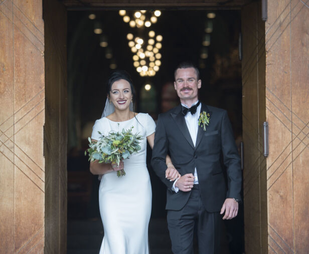 GIFT: Henrik fikk sin Liva i april i fjor. Foto: Anders Martinsen / Se og Hør