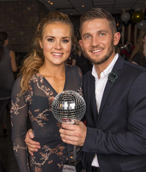 TIL TOPPS: Helene og Jørgen vant «Skal vi danse» i 2017. Året etter bekreftet de at de var blitt et par. Foto: Tor Lindseth / Se og Hør