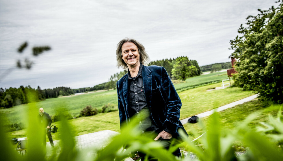 NABOER: Odd Nordstoga og Aslag Haugen bor sammen i det velkjente «Bajasburet» i år. Foto: Christian Roth Christensen / Dagbladet