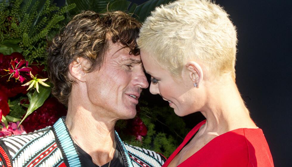 BRYLLUPSDAG: Petter og Gunhild Stordalet giftet seg for ni år siden og i anledning bryllupsdagen delte førstnevnte en kjærlighetserklæring på Instagram til sin kone. Foto: Andreas Fadum