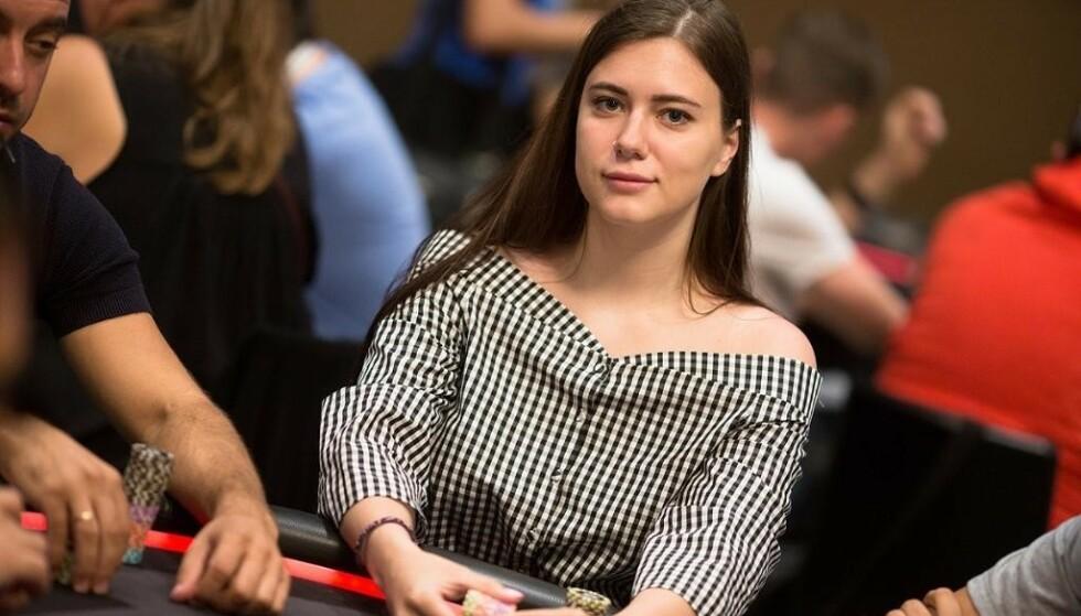 <strong>DØD:</strong> Pokerstjerna Liliya Novikova (26) ble tidligere denne uka funnet død i badekaret i sitt eget hjem. FOTO: PokerStars / Twitter