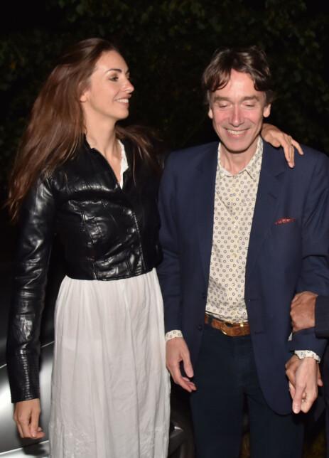 MANN OG KONE: Rose Hanbury er gift med David Rocksavage. Her er ekteparet avbildet sammen i 2015. Foto: NTB Scanpix