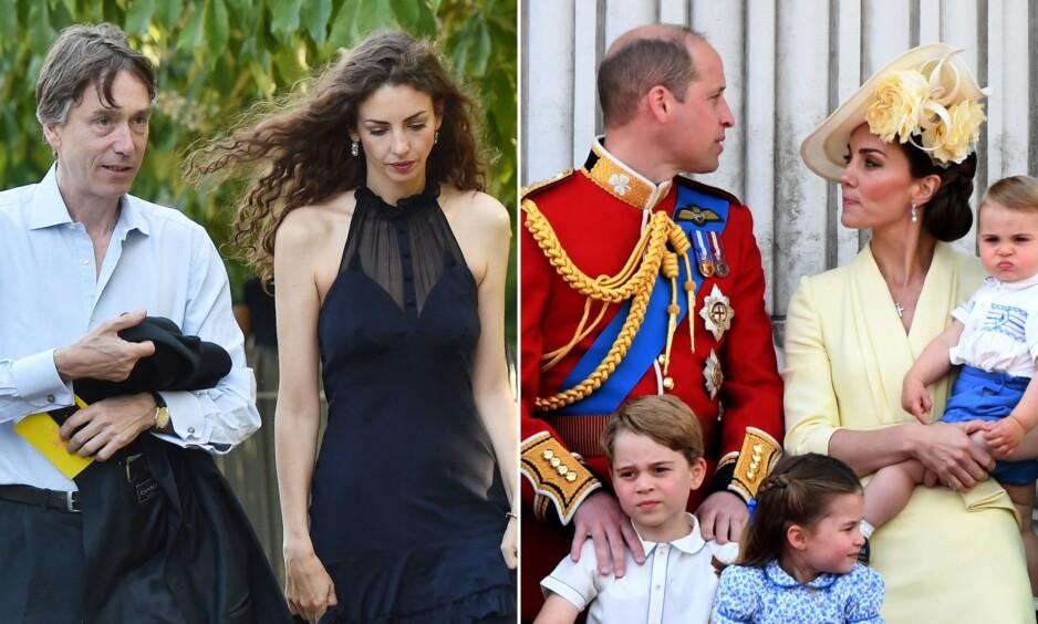 PÅSTÅTT FEIDE: Tidligere i år gikk det rykter om at hertuginne Kates vennskap til Rose Hanbury (til venstre) var ødelagt. Det sårer sistnevnte. Foto: NTB Scanpix