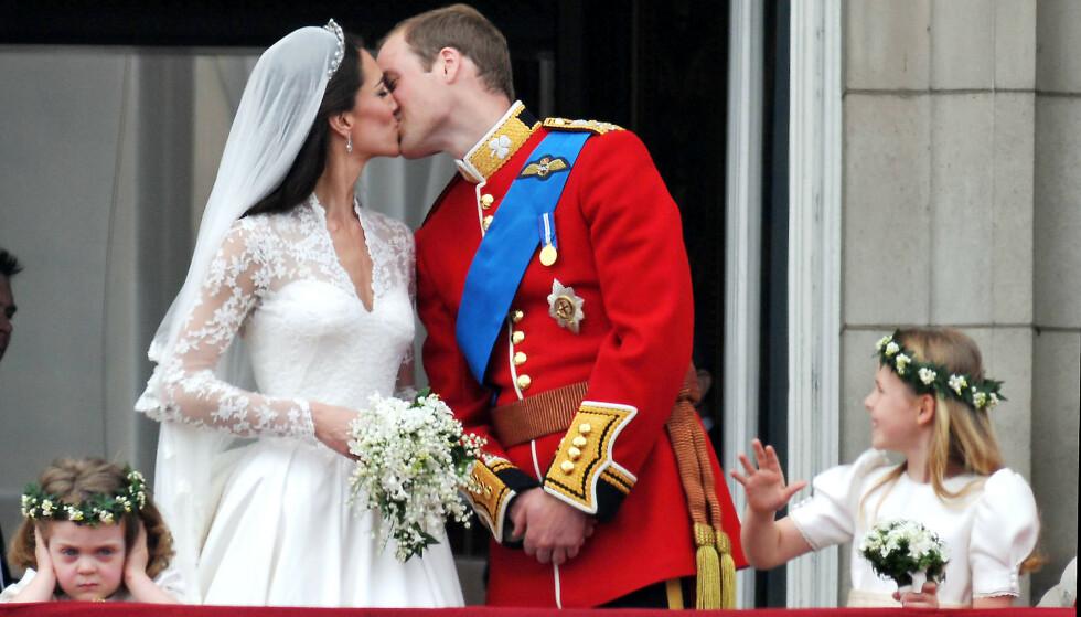 LYKKELIG GIFT: Kate og William har vært gift siden 2011. Ryktene om et angivelig sidesprang skal ha gjort forholdet deres sterkere. Foto: NTB Scanpix