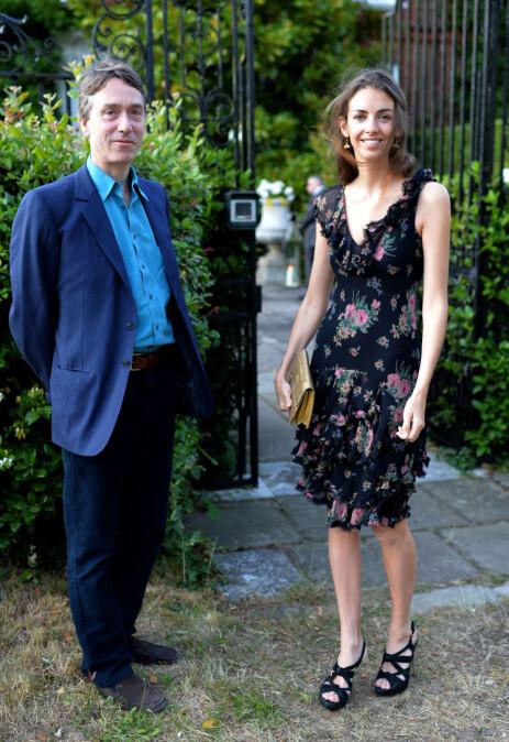 TRØBLETE TIDER: Ekteskapet mellom Rose og David går angivelig ikke helt på skinner om dagen. Her i 2013. Foto: NTB Scanpix