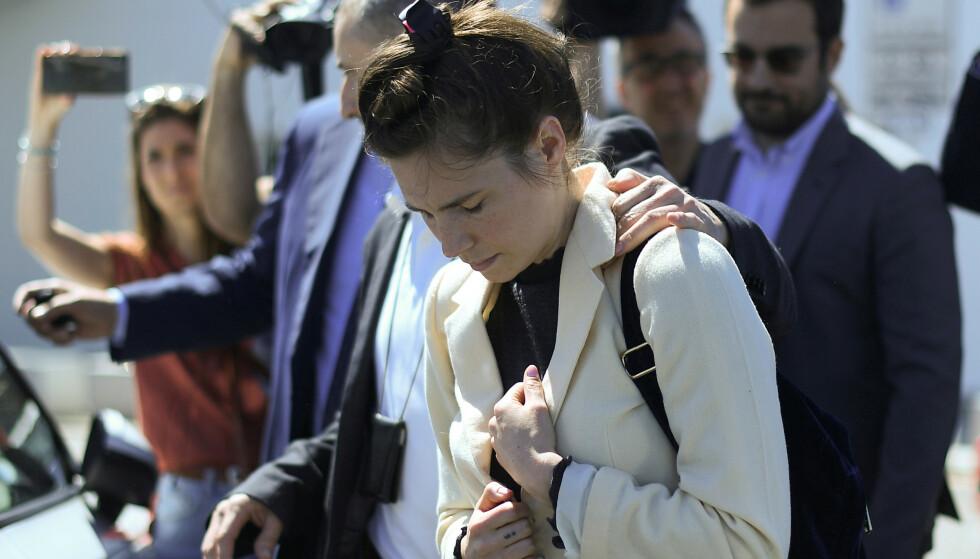 <strong>TILBAKE:</strong> Denne uken var Amanda tilbake i Italia for første gang. Foto: NTB Scanpix