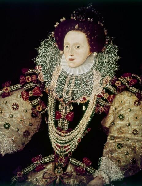 «JOMFRU-DRONNINGEN»: Flere har hevdet at dronning Elizabeth I av England og Irland egentlig var en mann. Foto: NTB Scanpix