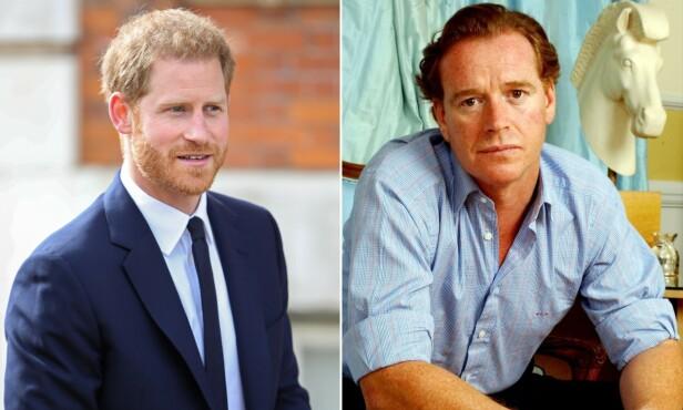 LIKHETER: Flere mener prins Harry har flere likheter til James Hewitt enn til sin egen far, prins Charles. Foto: NTB Scanpix