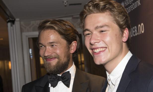 SKUESPILLERBRØDRE: Både Jakob og Jonas Oftebro har satset på en skuespillerkarriere. Foto: NTB Scanpix