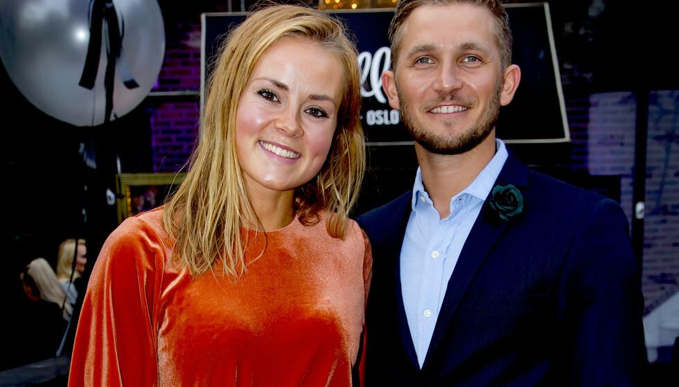 FANT LYKKEN: Programleder Helene Olafsen (29) fant tonen med dansepartneren Jørgen Nilsen under innspillingen av «Skal vi danse» høsten 2017. Året etter ble de kjærester. Foto: Tore Skaar/ Se og Hør