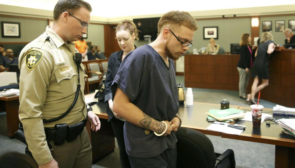 HEVDER SIN USKYLD: Kelset Turners kjæreste Jon Kennison erklærte seg ikke skyldig i drap torsdag forrige uke. Foto: NTB Scanpix