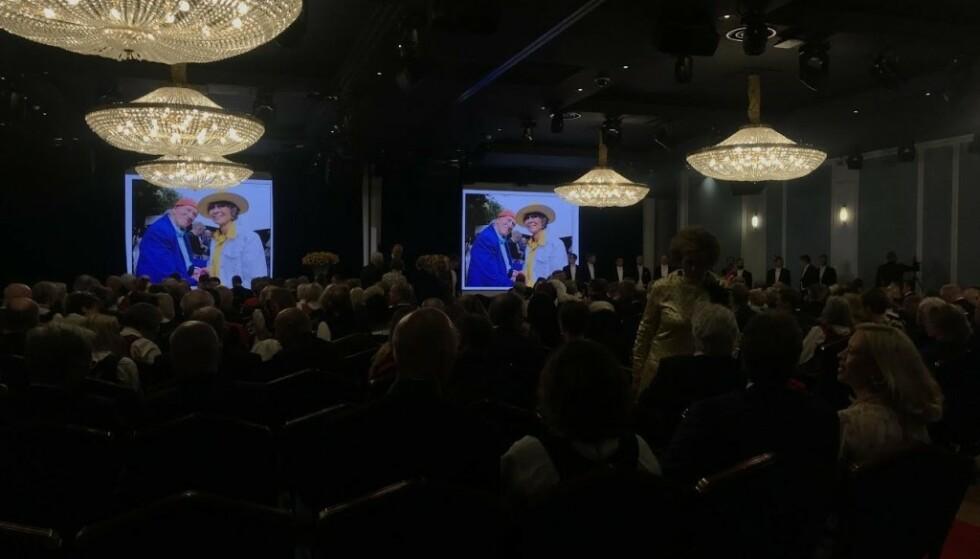 VIELSE: Klokka 11-30 giftet Olav Thon og Sissel Berdal Haga seg. Foto: Amanda Walnum / Dagbladet