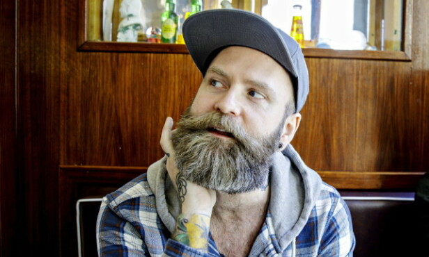 PROVOSERT: Komiker Adam Schjølberg var en av dem som reagerte sterkt på Jan Thomas' uttalelse i fjor. Foto: Nina Hansen / Dagbladet