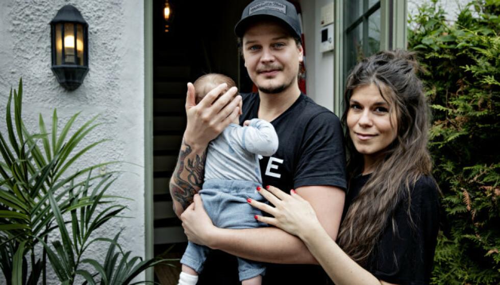 ENDRES: Kristin Gjelsvik og Dennis Poppe ser for seg at sønnen også vil spise plantebasert. Foto: Nina Hansen / Dagbladet