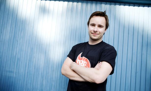 PROGRAMLEDER: Stian Barsnes-Simonsen ledet «MGPjr» i flere år. Her i 2008. Foto: NTB Scanpix