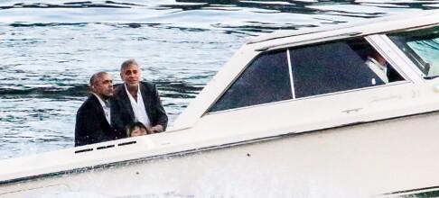 Obama-familien på «hemmelig» luksusferie hos Amal og George Clooney