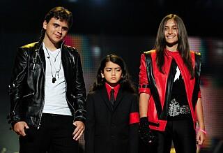 Slik har det gått med Michael Jacksons barn