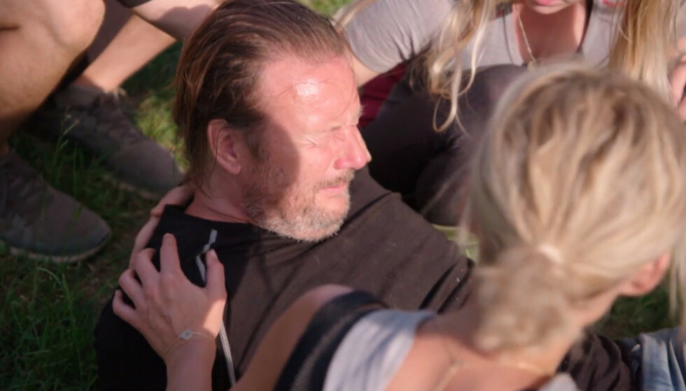 <strong>SMERTEFULLT:</strong> Svein Østvik skrek i smerte etter den dramatiske ulykken. Foto: TV 2