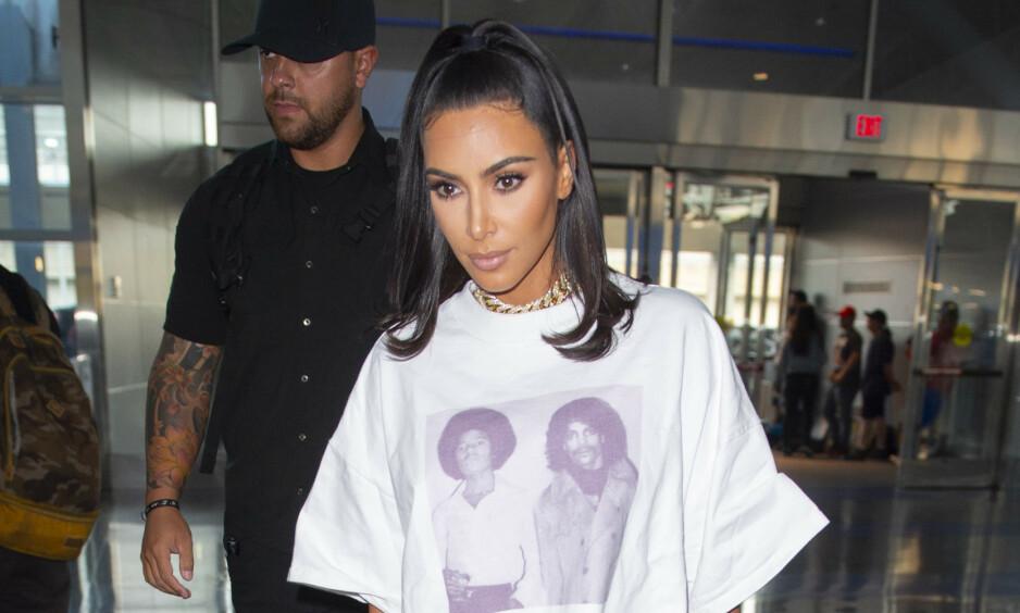 KRITIKK: Kim Kardashian West har måttet tåle mye kritikk etter at hun slapp sin nye undertøyskolleksjon tidligere denne uken. Nå svarer hun. Foto: NTB Scanpix