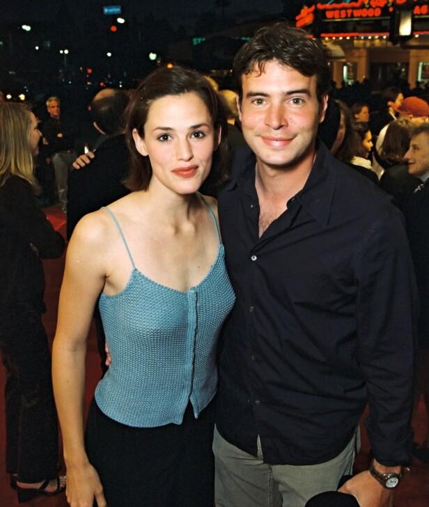 MØTTES PÅ SETTET: Jennifer Garner og Scott Foley fant raskt tonen under innspillingen av tv-programmet «Felicity». Her er de avbildet sammen i 2000, samme år som de giftet seg. Foto: NTB Scanpix