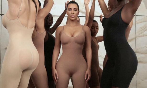 OMDISKUTERT KOLLEKSJON: Siden Kim Kardashian lanserte sin nye kolleksjon med shaping-undertøy i forrige uke, har kritikken haglet. Foto: Reuters / NTB Scanpix