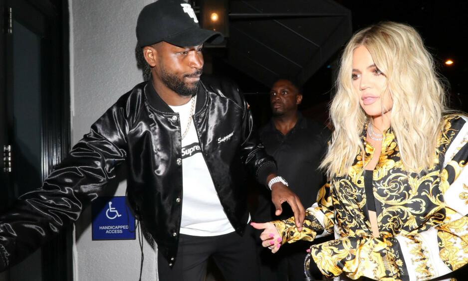 DESPERAT: Selv om forholdet mellom realitystjernen Khloé Kardashian og Tristan Thompson er over stopper det ikke sistnevnte fra å prøve å vinne henne tilbake. Foto: NTB scanpix