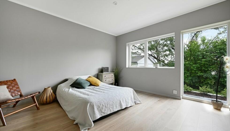 FIRE SOVEROM: Riises-parets nye hjem har hele fire soverom. Foto: Kristian T. Bollæren / Z-eiendom