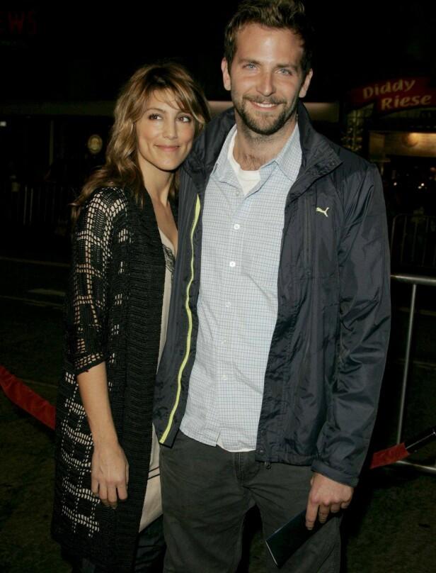 KORTVARIG: Ekteskapet mellom Jennifer Esposito og Bradley Cooper ble en kort affære. Paret skilte lag etter om lag fire måneder. Her er de avbildet sammen i 2006. Foto: NTB Scanpix