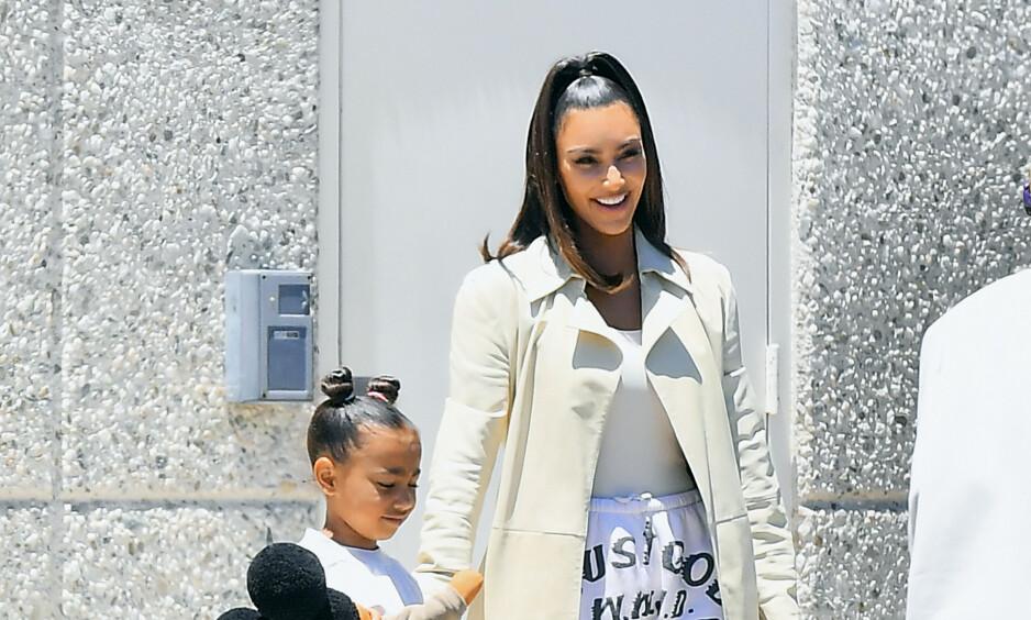 REALITYSTJERNE: Kim Kardashian West kan med sikkerhet si å regnes som en av verdens største tv-profiler. Det betyr likevel ikke at hun er garantert en stjerne på berømte Hollywood Walk of Fame. Foto: NTB Scanpix