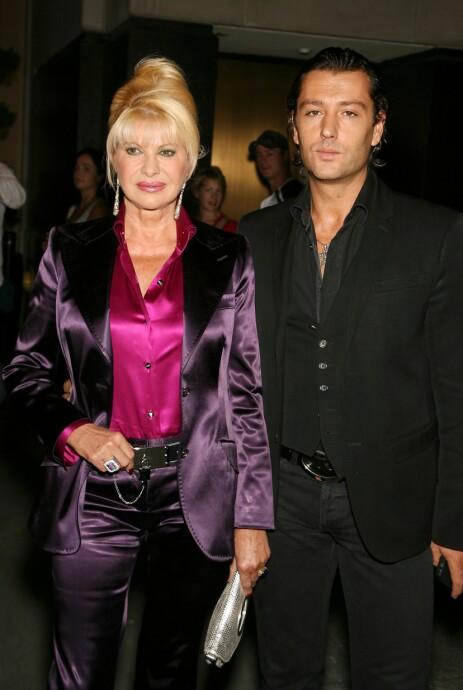 SLUTT: Ivana Trump har i mange år vært i et av-og-på-forhold med Rossano Rubicondi. Nå går han kraftig ut mot familien. Foto: NTB Scanpix