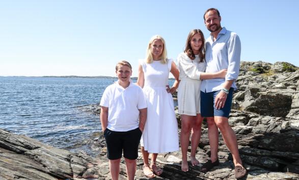 VED HAVET: Landstedet ligger nært sjøen utenfor kronprinsessens hjemby, Kristiansand. Foto: NTB Scanpix