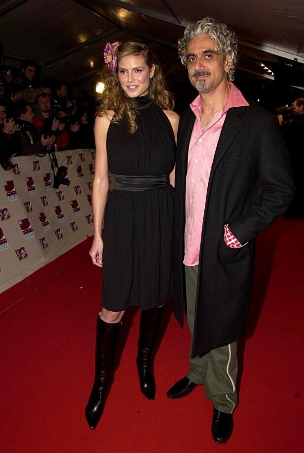 FORTSATT VENNER: Stemningen mellom eksparet Heidi Klum og Ric Pipino skal fortsatt være god etter skilsmissen i 2002. Foto: NTB Scanpix