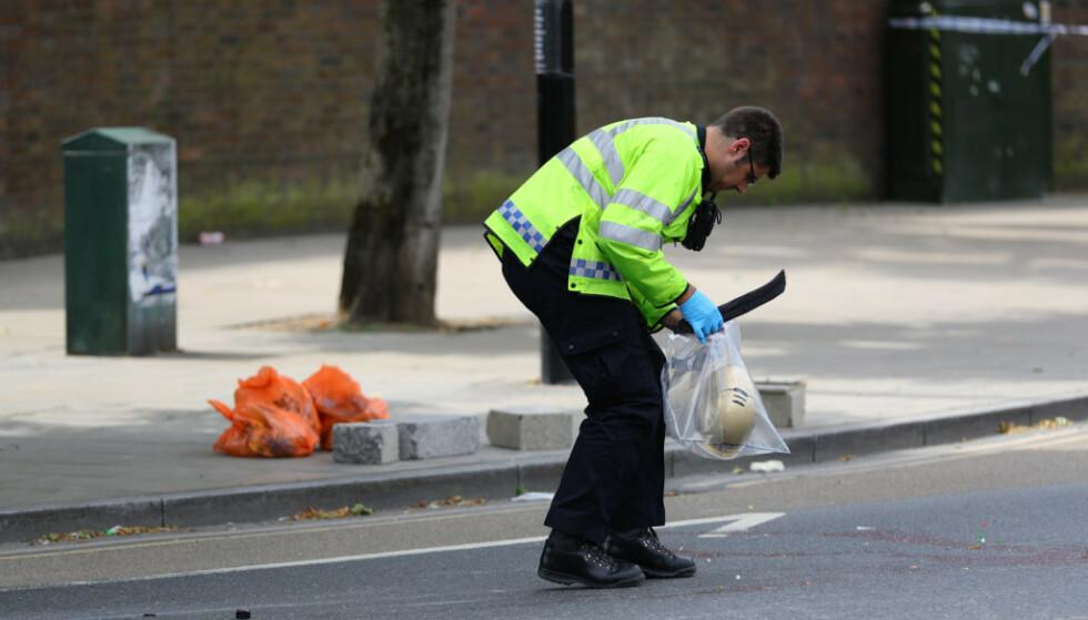 ULOVLIG: Britisk lovgivning forbyr elsparkesyklister å kjøre på offentlige veier. Det er foreløpig ukjent hvorvidt Hartridge gjorde nettopp det. Foto: NTB Scanpix