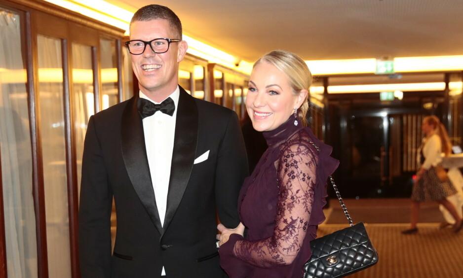 FORLOVET: Jan Fredrik Karlsen og Janne Formoe har forlovet seg. Foto: NTB Scanpix