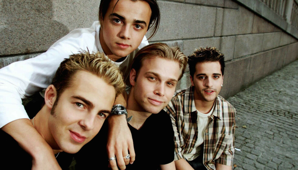 <strong>BOYBAND-IDOL:</strong> Mange unge pikehjerter ble kapret av det populære boybandet A1 på slutten av 90- og starten av 2000-tallet. Foto: NTB Scanpix.