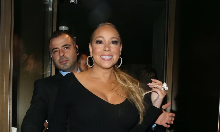 OPPSIKTSESKKENDE: I et nytt intervju avslører Mariah Carey (49) private detaljer fra sexlivet sitt. Foto. NTB Scanpix