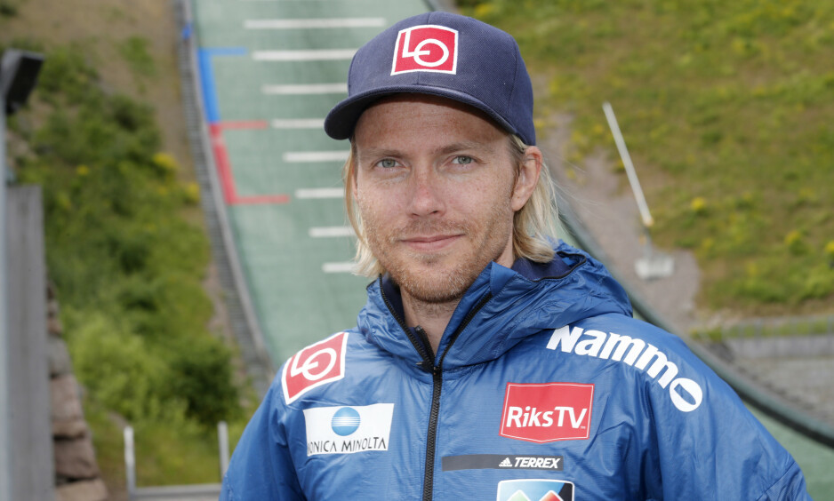 KREFTSYK: Den tidligere skihopperen Bjørn Einar Romøren (38) forteller til Se og Hør at han er diagnostisert med kreft. Foto: Terje Bendiksby / NTB Scanpix