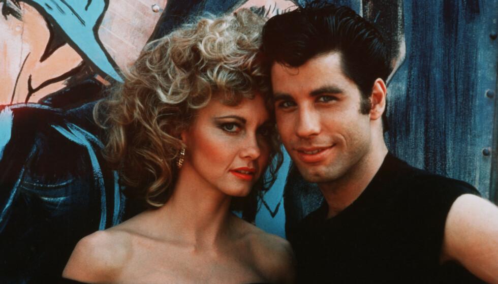 KJENT DUO: Olivia Newton-John og John Travolta ble verdenskjente for sine roller i «Grease» fra 1978. Foto: NTB Scanpix