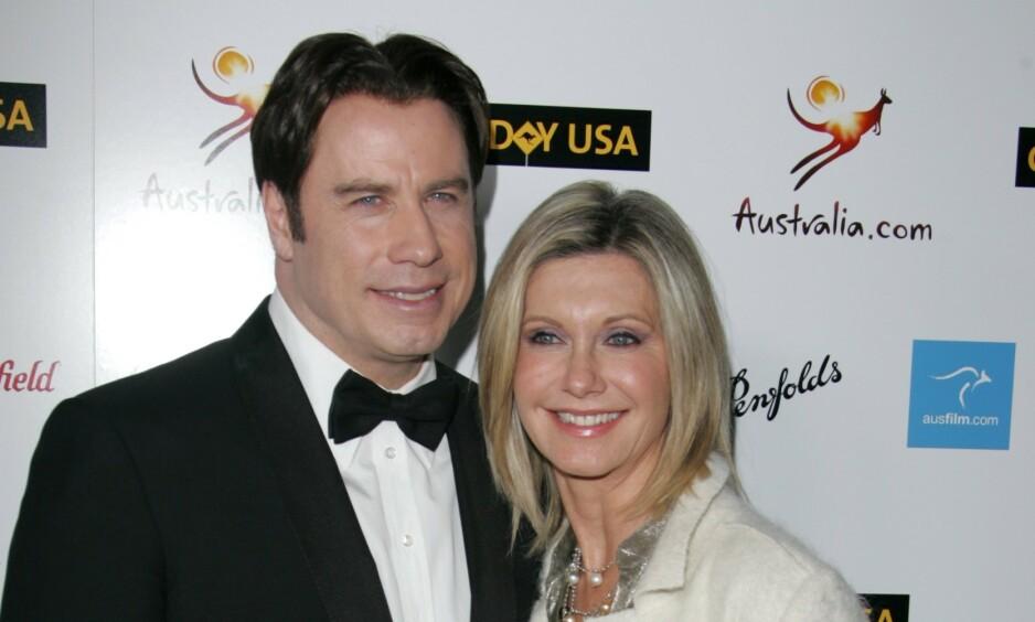 STJERNER: Olivia Newton-John og John Travolta ble store stjerner for sine roller i «Grease», som kom ut i 1978. Nå snakker førstnevnte ut om et noe utradisjonelt frieri. Foto. NTB Scanpix