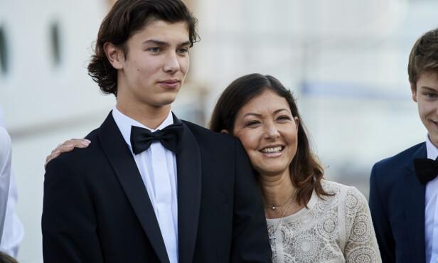 GJØR SOM MAMMA: Prins Nikolais mor, grevinne Alexandra, har også businessutdannelse. Foto: NTB Scanpix