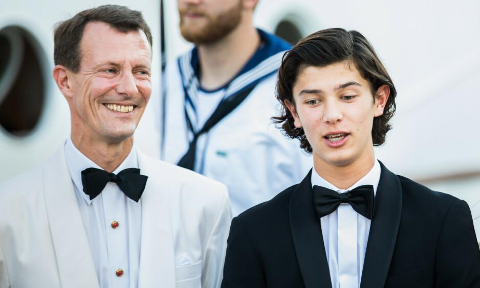 HAR SØKT SKOLEPLASS: Etter å ha avbrutt sin militære utdannelse, har prins Nikolai nå søkt skoleplass ved Copenhagen Business School. Foto: NTB Scanpix