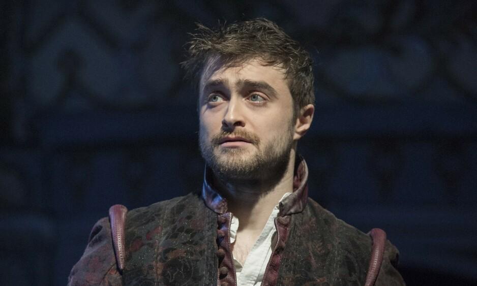 <strong>GRAVER I FORTIDEN:</strong> Skuespiller Daniel Radcliffe blir bedre kjent med familiehistorien i det britiske TV-programmet «Who Do You Think You Are?». Her avbildet i forbindelse med et teaterstykke. Foto: NTB Scanpix