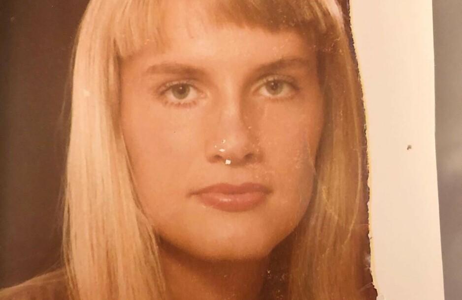 <strong>UNG OG LOVENDE:</strong> Dette bildet ble tatt da den svenske tv-stjernen var 19 år gammel, da hun jobbet som guide i Jerusalem. Mye har skjedd siden den gang. Foto: Privat